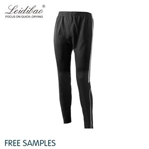 Side Strips Contrast Color High Elastic Jogger Pants