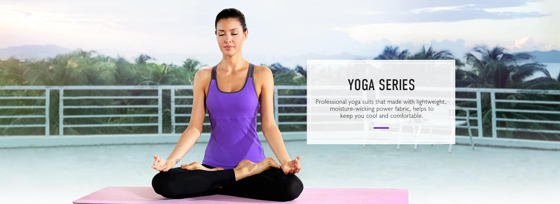 Vêtements de yoga
