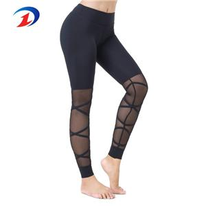 Custom Sports Mesh Fitness Yoga Pants Women Leggings