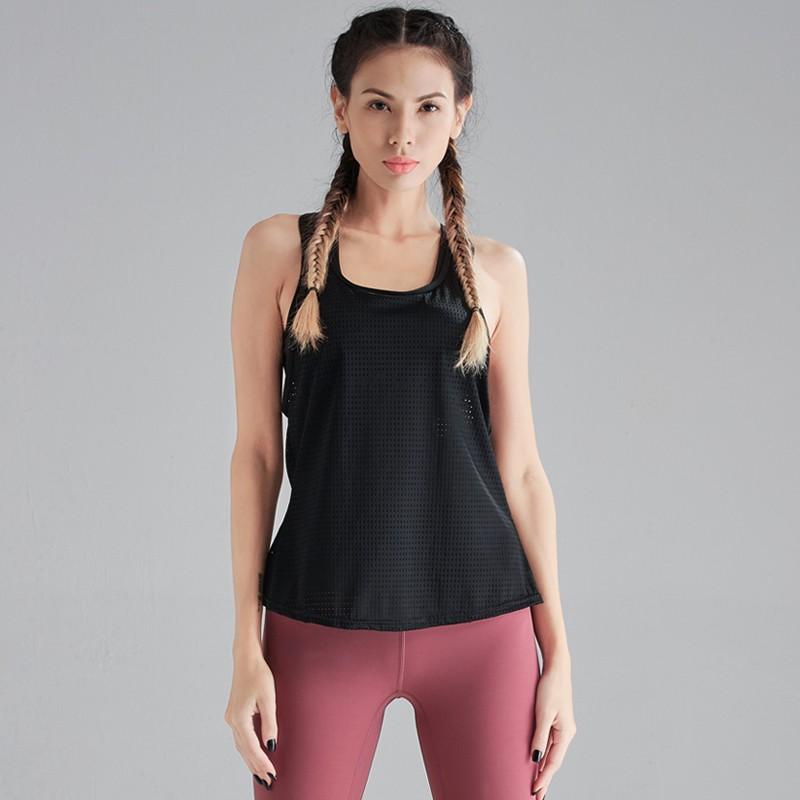 racer back Black soft comfortable fabric Vest