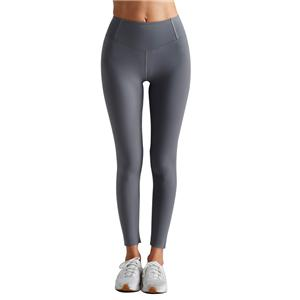 Plain Gray Yoga Pants Gym Fitness Lycra Leggings