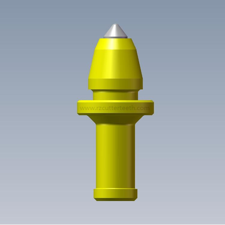 Rock Drill Bits Conical Cutter Teeth For Piling Auger