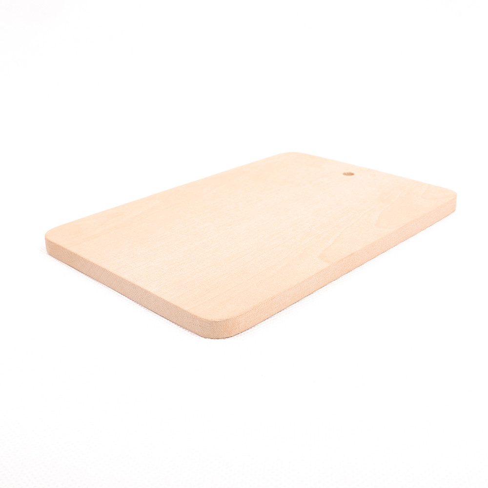 Wood Meat And Cheese Cutting Board With Handle