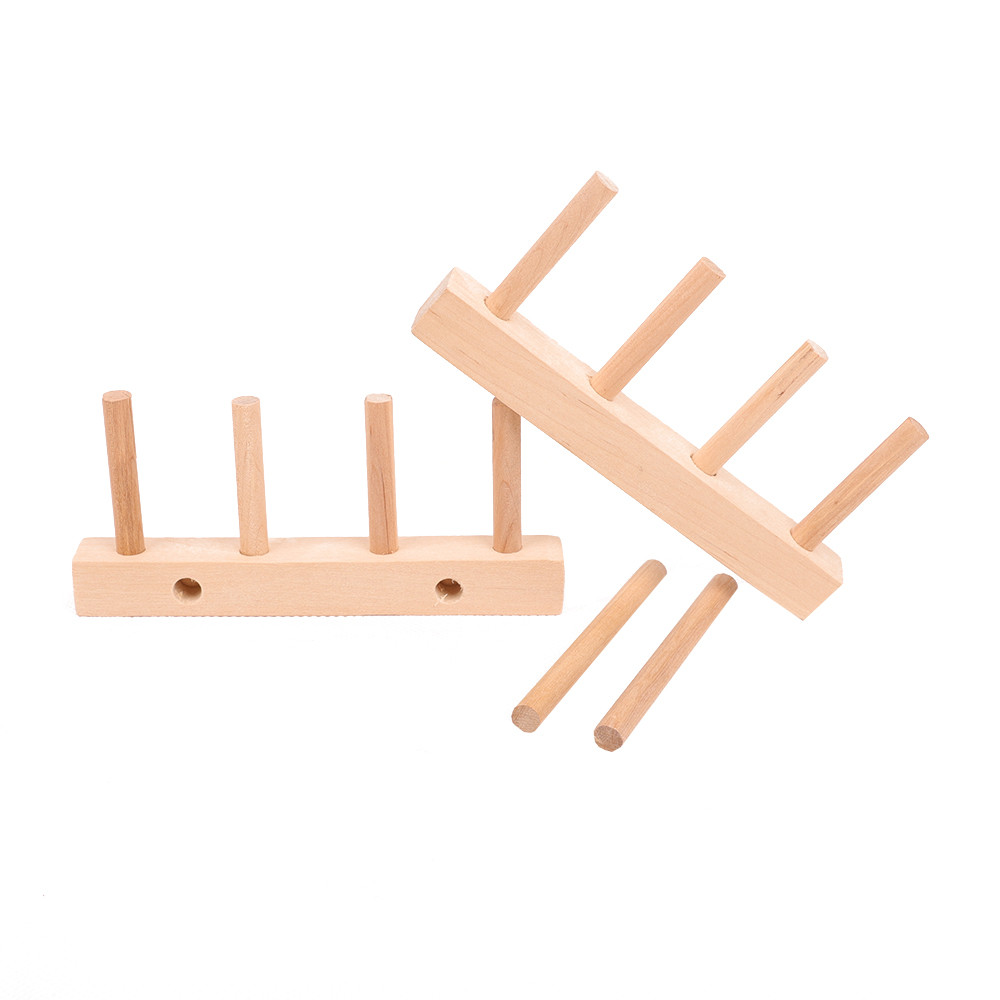 Strong Wood Display Plates Book Rack