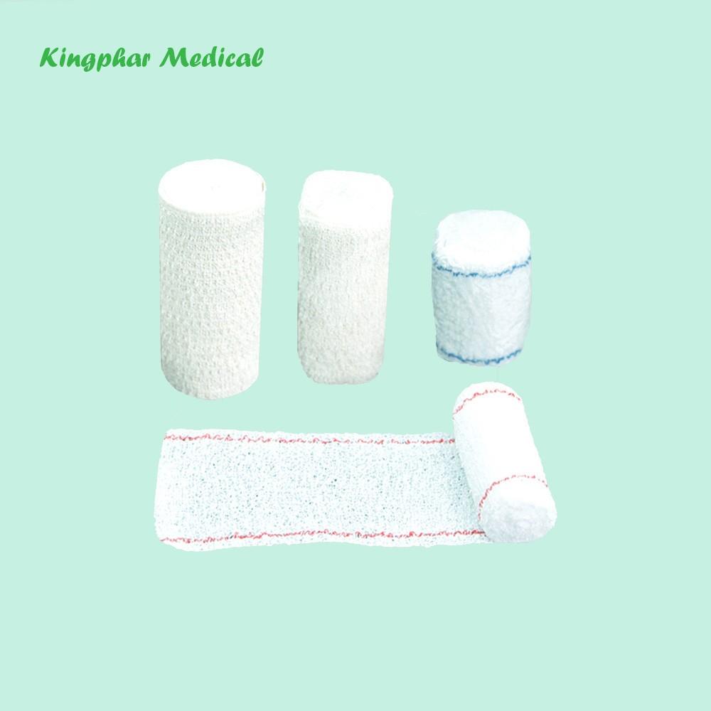Coloured Elastic Cotton Crepe Bandage