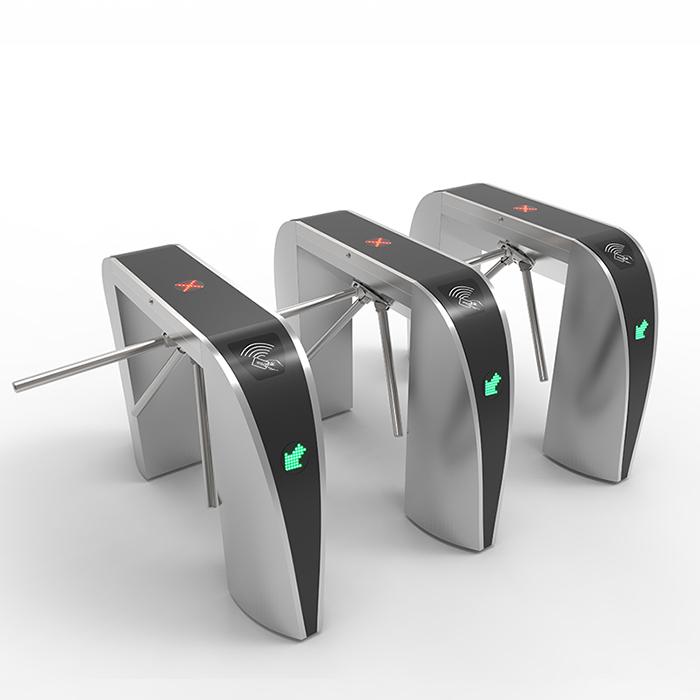 #304 stainless steel Barcode GYM Tripod Turnstile