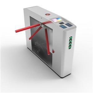 #stainless steel QR Code Fingerprint RFID bidirectional Tripod Turnstile