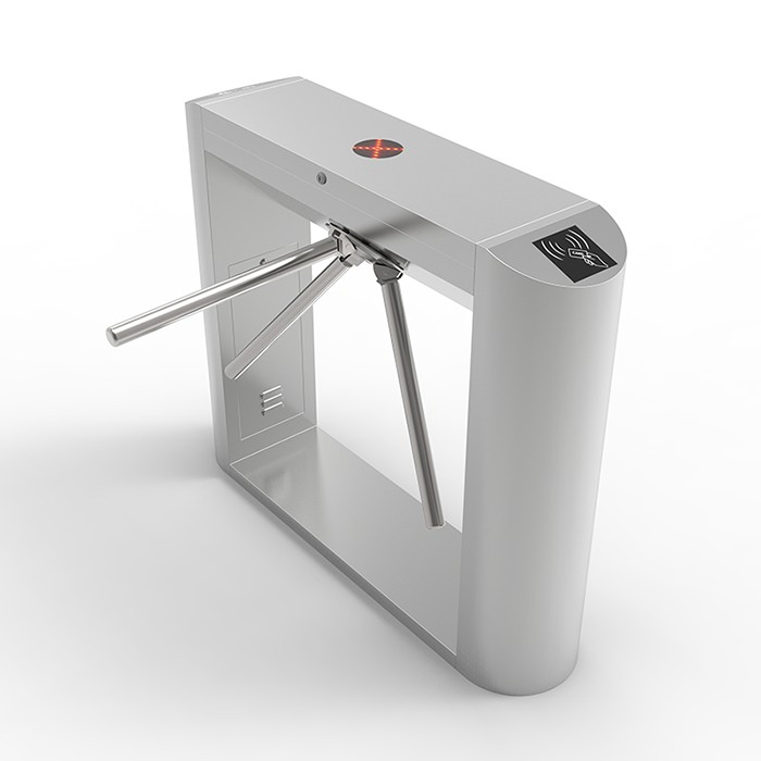 Factory semi automatic Tripod turnstile with access control for subway