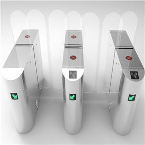 RFID card infrared sensor Automatic sliding barriers gate turnstile for access control