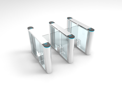 Face recognition speed swing barrier gate automatic high pass speed gate