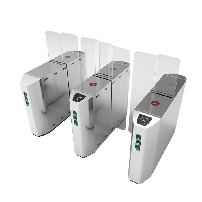 May promotion High Secured Fast speed Full Height Sliding Gate Turnstile