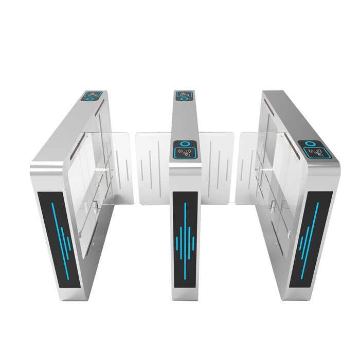 Customized Design Rfid Card Face Recognize Access Swing Barrier Gate