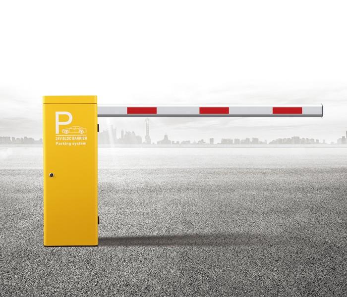 DC brushless smart road barrier gate straight rod barrier gate
