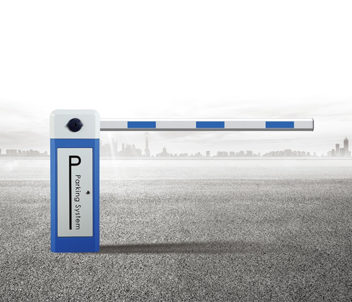 Smart straight rod boom barrier two fence car parking barrier gate