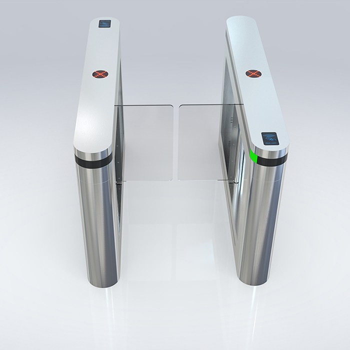 Automatic swing barrier high end turnstile for exhibition