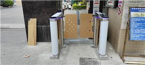Dongguan community swing barrier gate