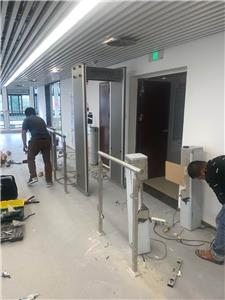 Labor Bureau swing barrier passage gate