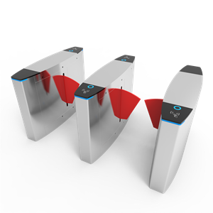 High-end flap barrier QR code access system for exhibition or office