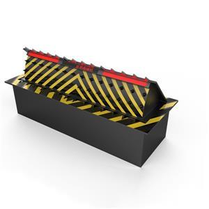 Équipement de sécurité électrique de bascule électrique de bloqueur de route de trafic hydraulique de sécurité automatique de bloqueur de route