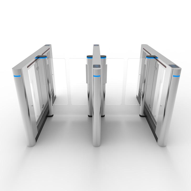 OEM factory EXW price RFID smart card automatic speed gate slim swing turnstile barrier gate