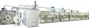 Full Servo Sanitary Napkin Making Machine