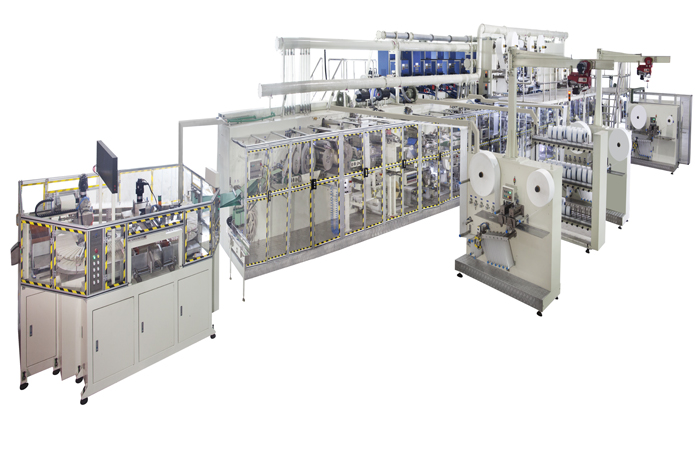Pull Ups Diapers Production Line