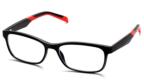 Unisex and Man Rectangle Urban Sports TR90 Memory Plastic Reading Glasses