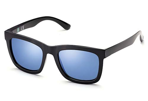 ECO Friendly Recycled Swiss TR90 Square Memory Plastic Sunglasses
