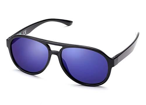 ECO Friendly Recycled Swiss TR90 Memory Plastic Aviator Sunglasses