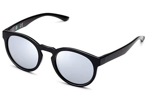 ECO Friendly Recycled Swiss TR90 Keyhole Bridge Memory Plastic Sunglasses