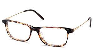 Man Square Ultra Slim Acetate Combo Eyeglass Frame