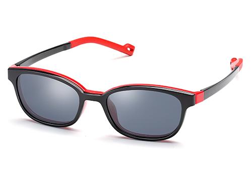 Kid Unisex ß-Plastic Eyeglass Frame with Magnetic Polarized Clip-On Manufacturers, Kid Unisex ß-Plastic Eyeglass Frame with Magnetic Polarized Clip-On Factory, Supply Kid Unisex ß-Plastic Eyeglass Frame with Magnetic Polarized Clip-On