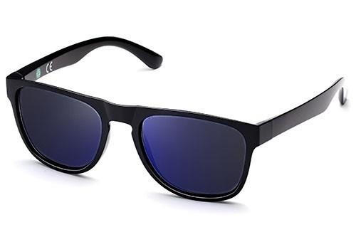 ECO Friendly Recycled Swiss TR90 Memory Plastic Key Hole Bridge Sunglasses