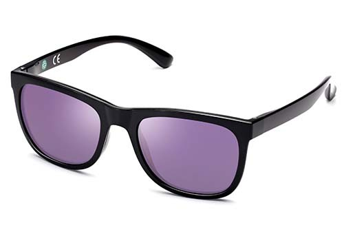 ECO Friendly Recycled Swiss TR90 Memory Plastic Square Sunglasses