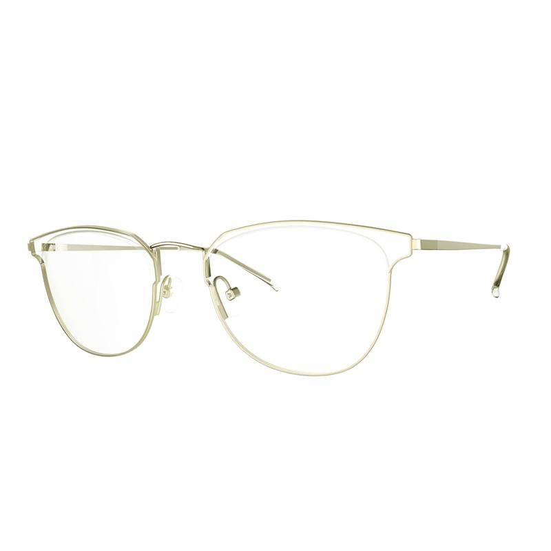 Super Slim Woman Eyeglass Shape Memory Alloy Temple