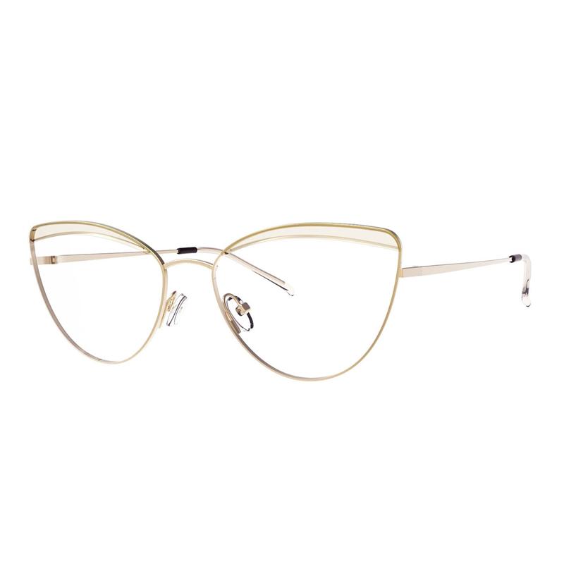 Super Slim Cateye Eyeglass Shape Memory Alloy Temple