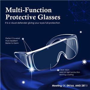 Anti-Fog Safety Glasses meeting EN166 & ANSI Z87.1 Standards
