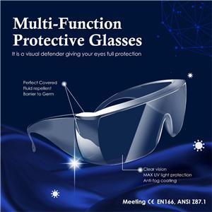 Anti-Fog Safety Goggles meeting EN166 & ANSI Z87.1 Standards