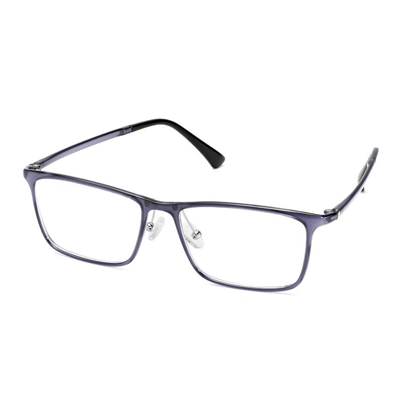 Men's Classic Style ß-Plastic Ultralight Eyeglass Frame