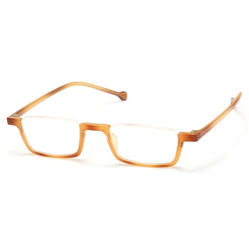 Square Half Frame Light Weight Reading Glasses