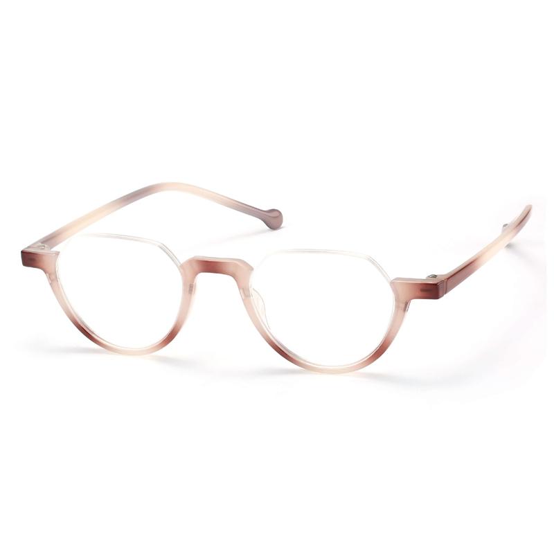 Geometric Half Frame Light Weight Reading Power Lens Reading Glasses