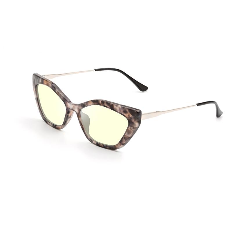 Cat Eye TR90 Rxable Frame and Blue Light Blocking Lens Eyeglasses