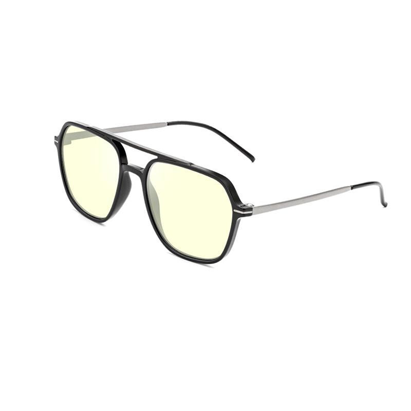 Swiss TR90 Memory Plastic Frame & Blue Light Blocking Eyeglasses