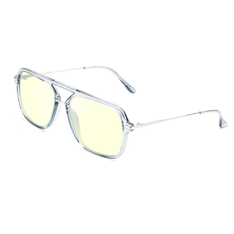 แว่นตาป้องกันแสงสีน้ำเงินอินเทรนด์และกรอบแว่นตา Swiss TR90