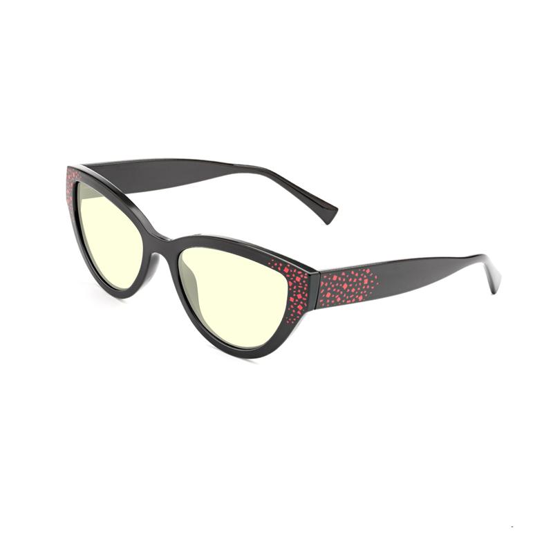 กรอบแว่นสายตาผู้หญิง Cat Eye Swiss TR90 Frame Blue Light Blocker