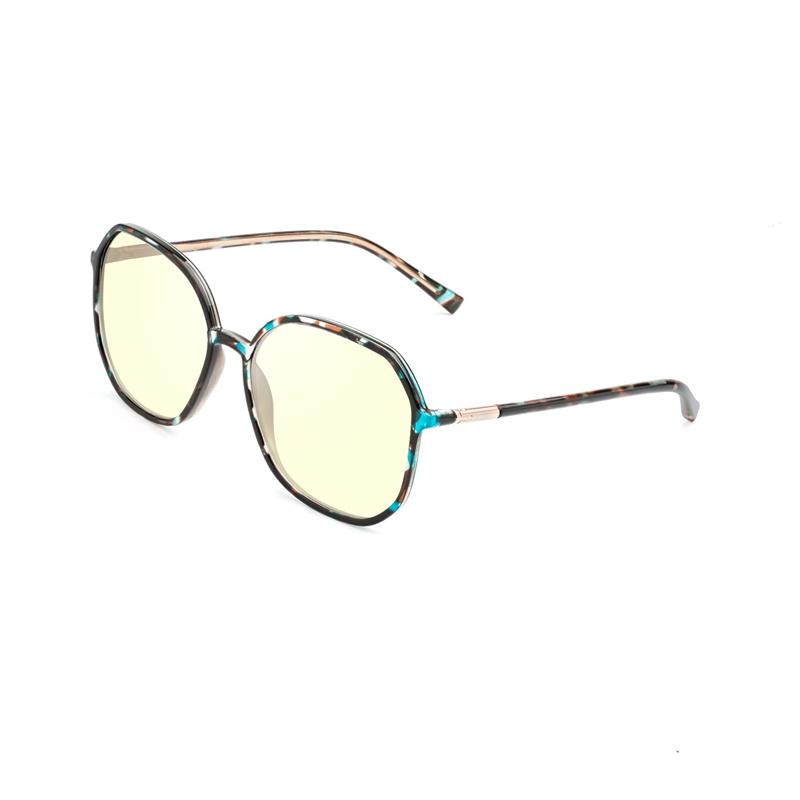 แว่นตา TR90 สไตล์สวิสอินเทรนด์และแว่นตาเลนส์ป้องกันแสงสีฟ้า