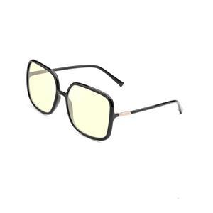 Oversize Square TR90 Memory Plastic Frame Blue Light Blocker Glasses