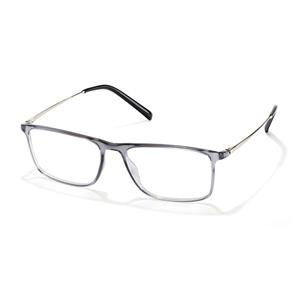 Stainless Steel & ß-Plastic Square Eyewear Frame for Men