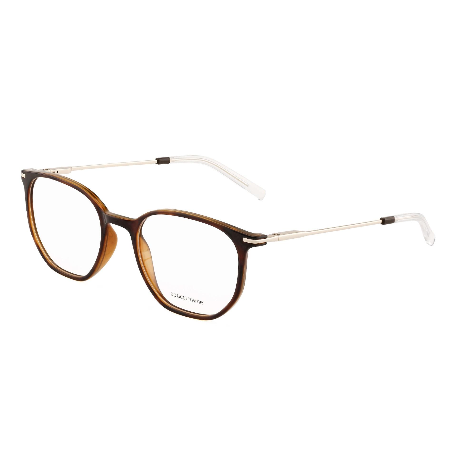 Metal Temple and TR90 Glasses Frames Blue Light Blocking Glasses
