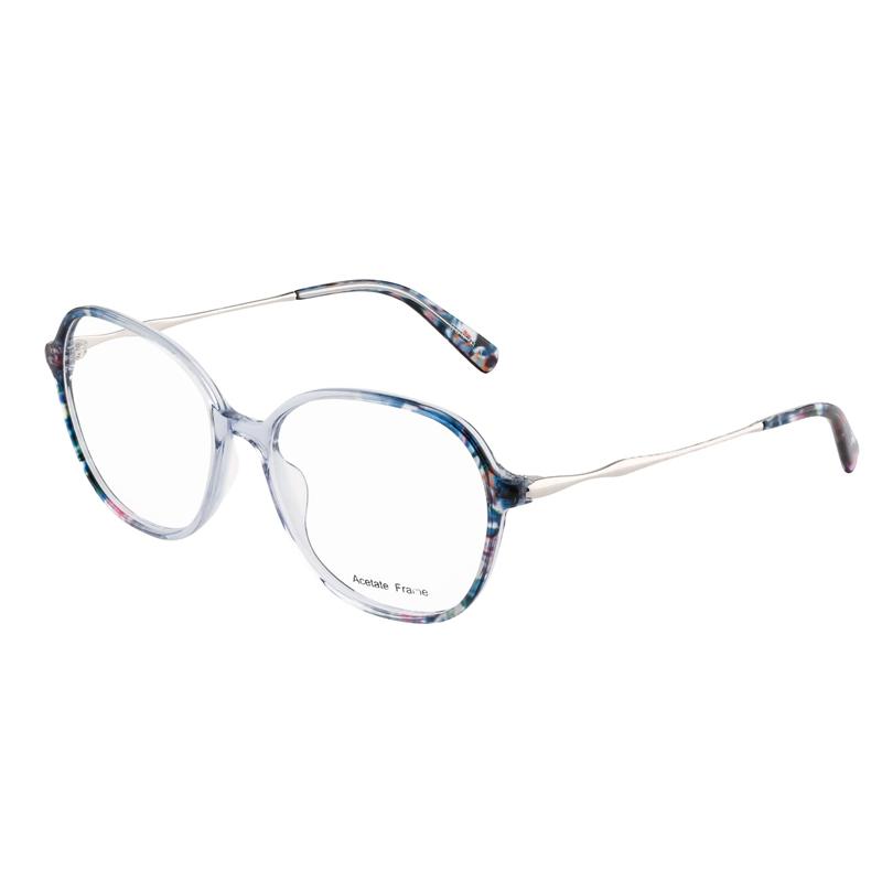 Ladies Color Mix Eyeglasses Vintage Acetate Frames
